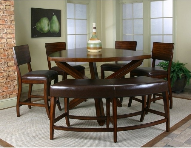 Well Known Cindy Crawford Home Highland Park Ebony 5 Pc Counter Height Dining With Regard To Crawford 6 Piece Rectangle Dining Sets (View 18 of 20)