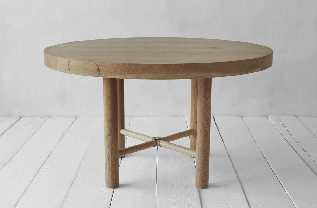 Well Known Circular Dining Tables Regarding Nk Round Dining Table (View 12 of 20)