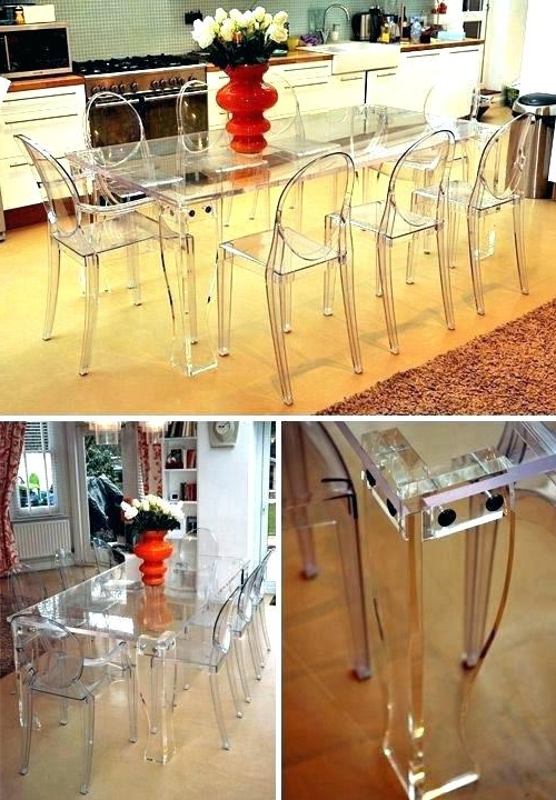 Well Known Clear Plastic Dining Table Miraculous Clear Dining Table Miraculous In Clear Plastic Dining Tables (View 5 of 20)