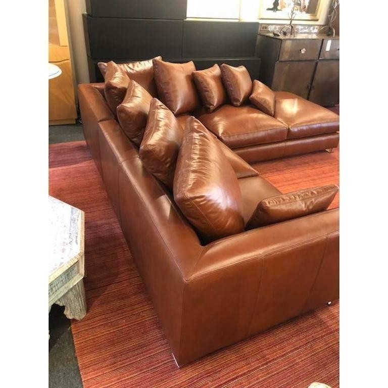 Well Known Cognac Leather Sectional Tenny 2 Piece Left Facing Chaise W Headrest With Regard To Tenny Cognac 2 Piece Left Facing Chaise Sectionals With 2 Headrest (View 2 of 15)