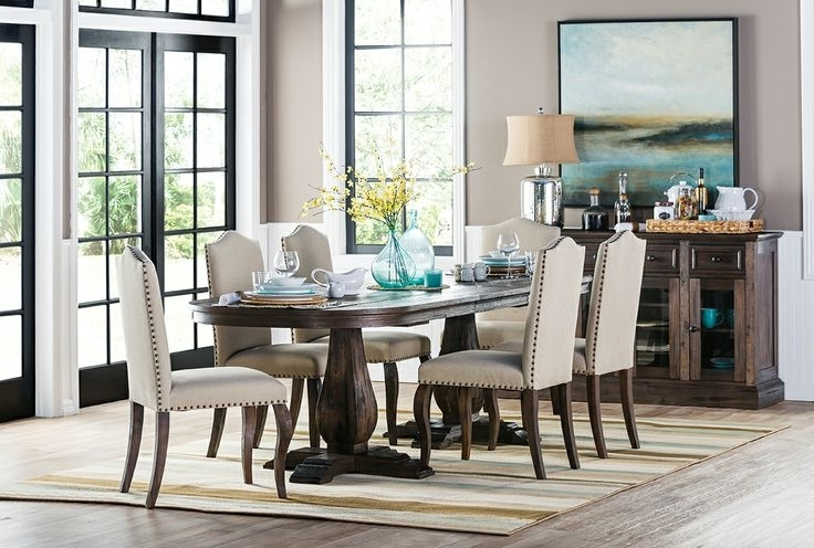 Well Known Combs 7 Piece Dining Sets With  Mindy Slipcovered Chairs Inside 48 Best Mountain Bridge Images On Pinterest (View 18 of 20)