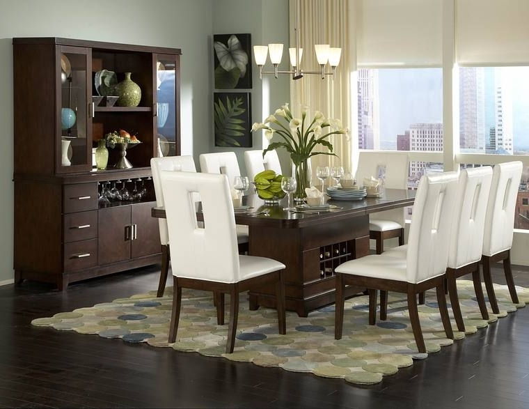 Well Known Contemporary Dining Room Tables And Chairs Regarding Dining Room : Modern Dining Room Table Chairs Simple With Picture Of (View 18 of 20)