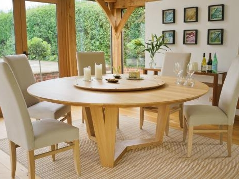 Well Known Contemporary Round Dining Table (View 19 of 20)