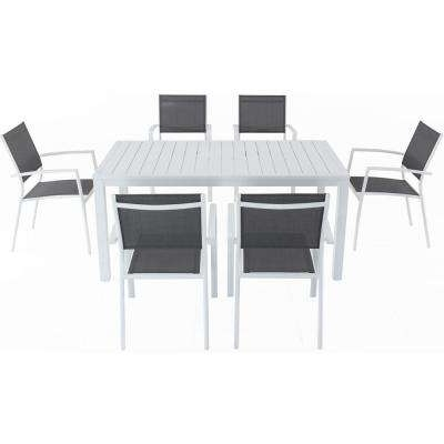 Well Known Crawford 7 Piece Rectangle Dining Sets Throughout Cambridge – Patio Dining Sets – Patio Dining Furniture – The Home Depot (View 12 of 20)