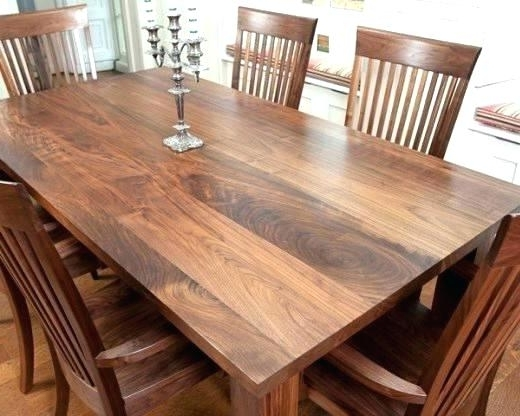 Well Known Decoration: Walnut Dining Room Chairs Table And Antique (View 14 of 20)