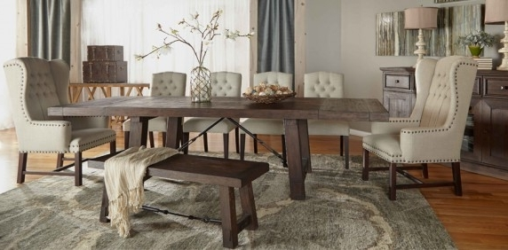 Well Known Dining Room Collections – Dining Room Inside Extending Rectangular Dining Tables (View 16 of 20)