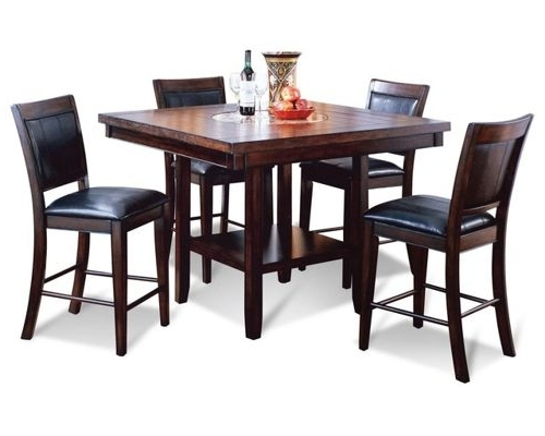 Well Known Dining Room Furniture Intended For Harper 5 Piece Counter Sets (View 14 of 20)