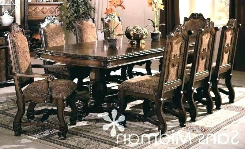 Well Known Dining Tables And 8 Chairs For Sale Inside Dining Room Table 8 Chairs Click Images To Enlarge 8 Seater Dining (View 19 of 20)