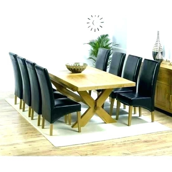Well Known Dining Tables And 8 Chairs Throughout Round 8 Seat Dining Table – Buxenz (View 19 of 20)