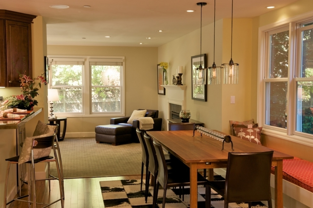 Well Known Dining Tables Lighting For Pendant Dining Room Light Fixtures Fascinating Rectangular Pendant (View 8 of 20)