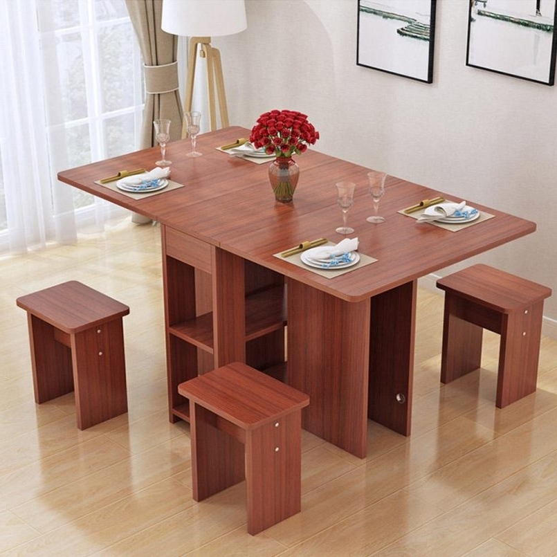 Well Known Dining Tables : Solid Wood Dining Table Wood Folding Dining Table With Regard To Large Folding Dining Tables (View 13 of 20)