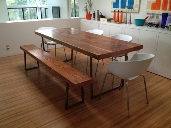 Well Known Embrace The Relaxed Style Of Indoor Picnic Tables Inside Dining Room Regarding Indoor Picnic Style Dining Tables (View 8 of 20)