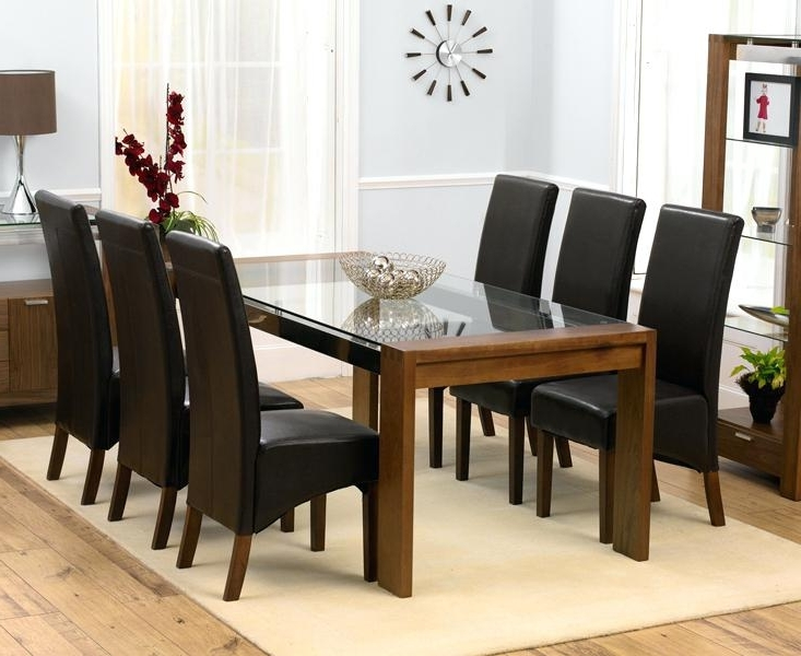 Well Known Exotic 6 Chair Dining Table 6 Chair Dining Table Set Regarding Room Throughout 6 Seater Round Dining Tables (View 18 of 20)
