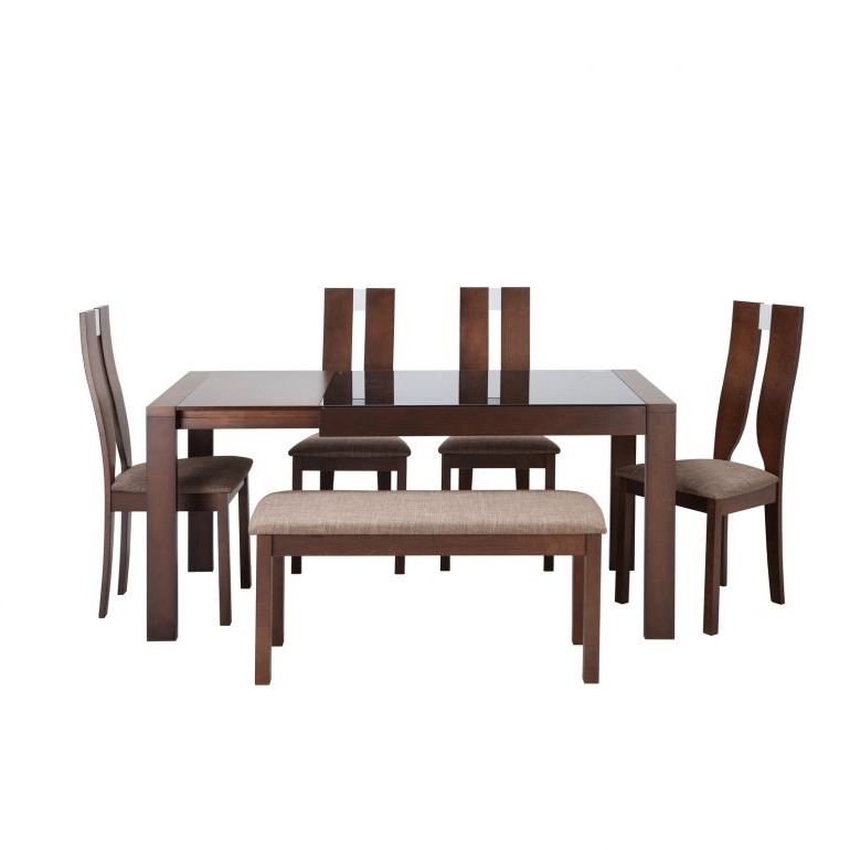 Well Known Extendable Dining Sets Inside Hillsdales 6 Piece Extendable Dining Set – Dining Sets – Furniture (View 16 of 20)