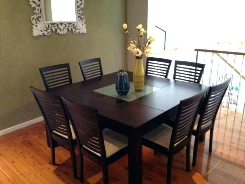 Well Known Extendable Dining Tables With 8 Seats For Square Extendable Dining Table Sets Small Room 8 Chairs Dinner For (View 18 of 20)