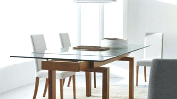 Well Known Extendable Glass Dining Tables Inside Expandable Glass Dining Table Banner Toronto – Chann (View 19 of 20)