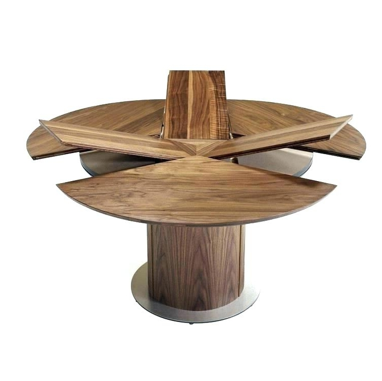 Well Known Extendable Round Dining Tables Intended For Dining Table Expandable Expandable Round Dining Table Dining Room (View 19 of 20)
