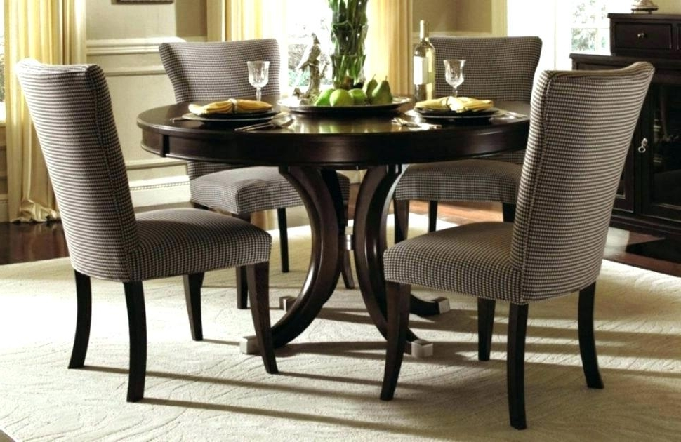 Well Known Extendable Round Dining Tables Sets For Large Round Dining Table Set Dining Tables Remarkable Large Round (View 12 of 20)