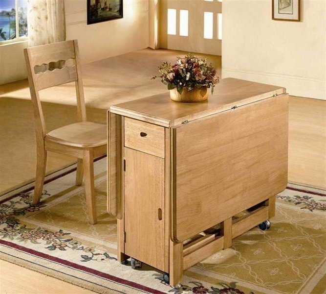 Well Known Folding Dining Table And Chairs Sets Pertaining To Lovable Folding Dining Table And Chair Set Dining Room Portable (View 19 of 20)