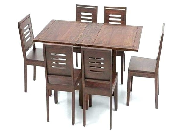 Well Known Folding Dining Table And Chairs Sets Throughout Small Folding Dining Table And 4 Chairs For Space Ikea Chair Set (View 5 of 20)