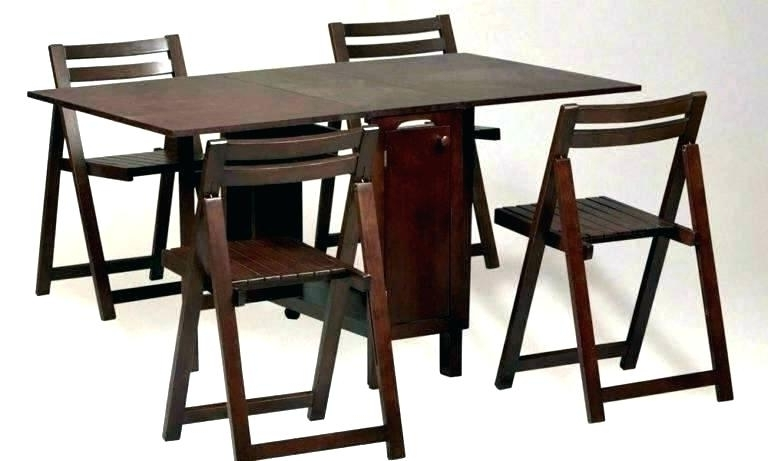 Well Known Folding Dining Table Sets Folding Dining Table Folding Dining Table Pertaining To Folding Dining Table And Chairs Sets (View 12 of 20)