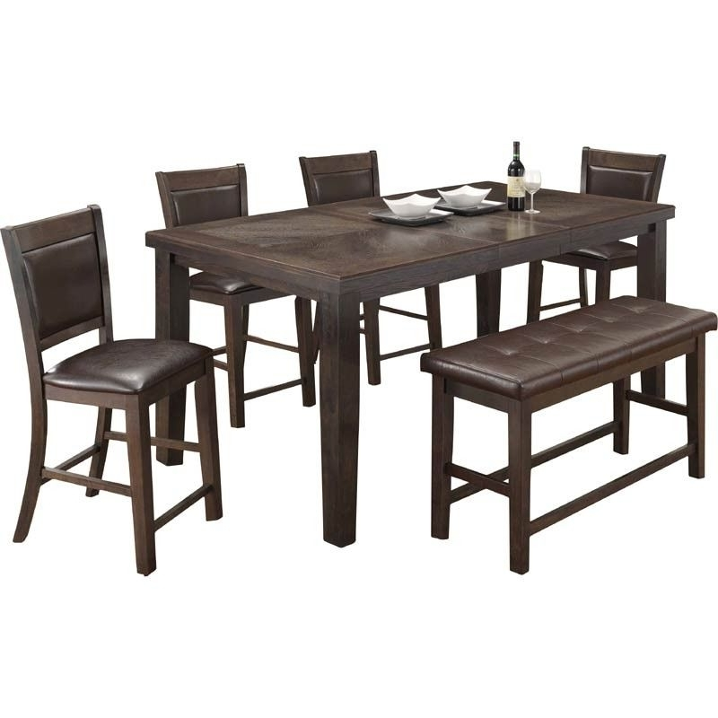 Well Known Gavin 7 Piece Dining Sets With Clint Side Chairs With Hampton Counter Height Dining Table And 6 Upholstered Stoo (View 19 of 20)