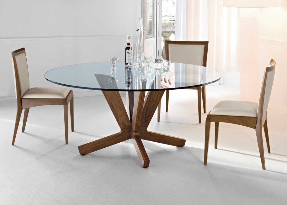 Well Known Glasses Dining Tables With Round Dining Table 60 Round Glass Dining Tablet For A Higher Level (View 18 of 20)