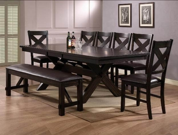 Well Known Havana Dining Set With Benchcrown Mark Pertaining To Havana Dining Tables (Gallery 3 of 20)