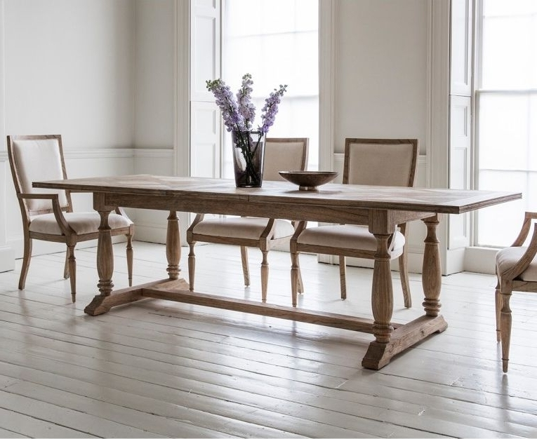 Well Known Hudson Dining Tables And Chairs Within Frank Hudson Gallery, Mustique Dining Set – Extending With 4 Chairs (View 3 of 20)