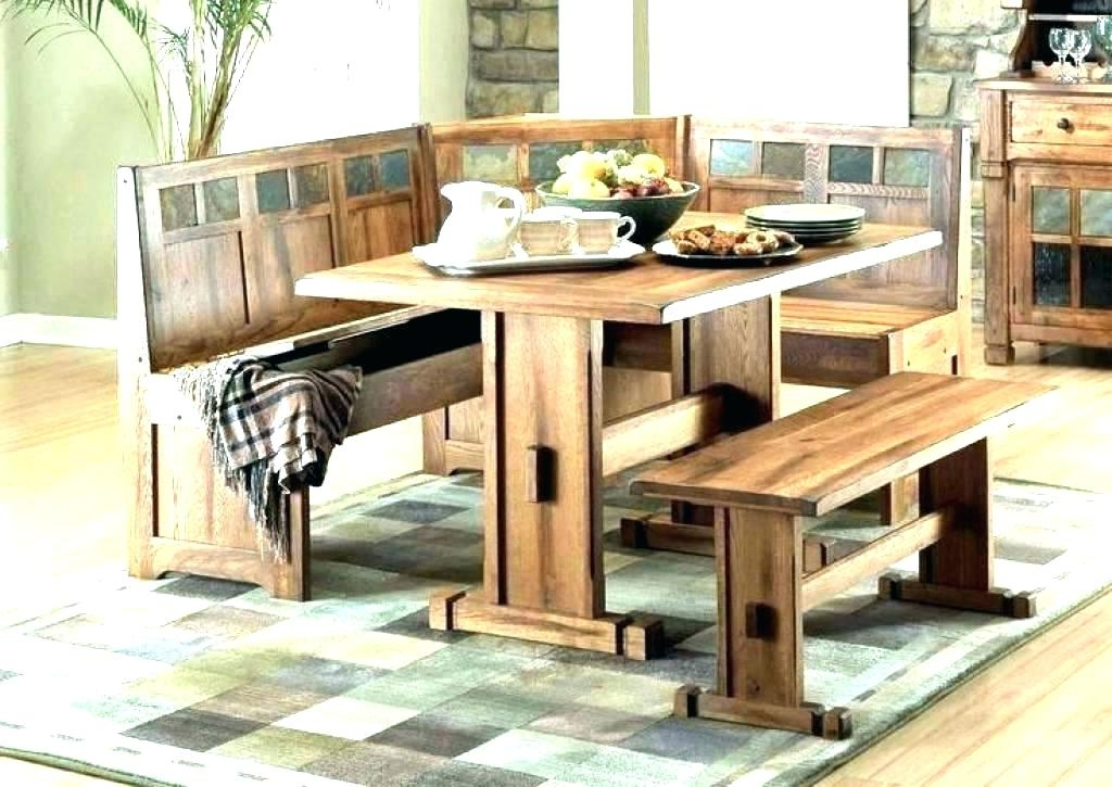 Well Known Indoor Picnic Style Dining Tables With Regard To Picnic Bench Style Dining Table Bench Style Dining Table Gray Dining (View 10 of 20)
