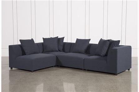 Well Known Karen 3 Piece Sectionals Inside Clayton Dark Grey 4 Piece Sectional, Sofas (View 15 of 15)