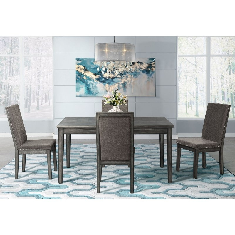 Well Known Kirsten 5 Piece Dining Sets For Picket House Furnishings Austin 5 Piece Dining Table Set In (View 14 of 20)