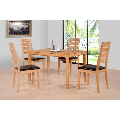 Well Known Logan Dining Tables Inside Logan Dining Set – Jb Furniture (View 19 of 20)