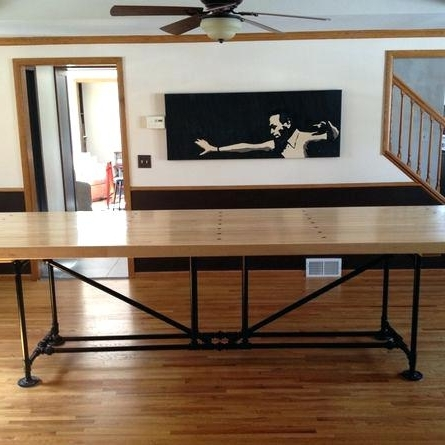 Well Known Long Thin Dining Table Elegant Skinny Dining Table For Your Counter In Thin Long Dining Tables (View 20 of 20)