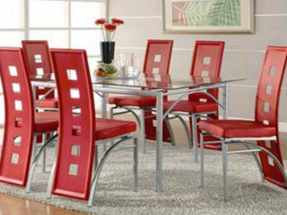 Featured Photo of Red Dining Table Sets