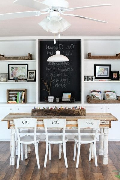 Well Known Magnolia Home Array Dining Tables By Joanna Gaines Inside Dressing Up Dining Chairs {for Everyday Use} (View 16 of 20)