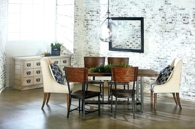 Well Known Magnolia Home Sawbuck Dining Tables Regarding Small Industrial Dining Table Magnolia Farms Dining Table Magnolia (View 18 of 20)