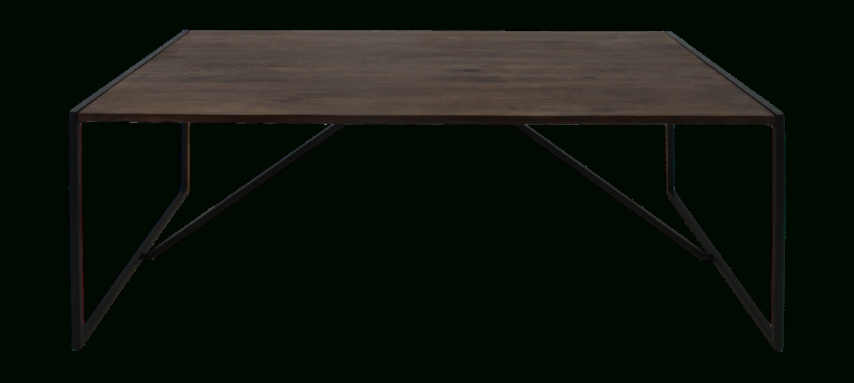 Well Known Mango Wood/iron Dining Tables Inside Dining Table – 220X100 Cm – Mango Wood/iron – Antique Finish (View 15 of 20)