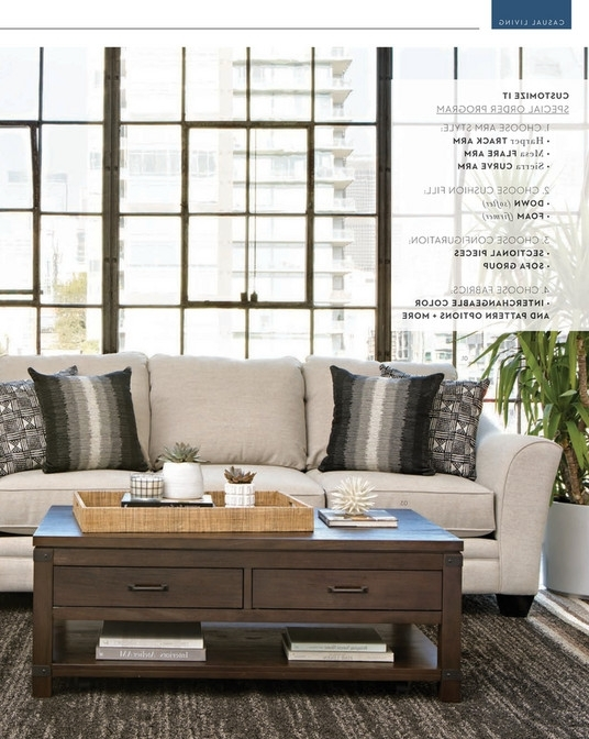 Well Known Mesa Foam 2 Piece Sectionals With Regard To Living Spaces – Spring 2018 – Mesa Foam 2 Piece Sectional (View 12 of 15)