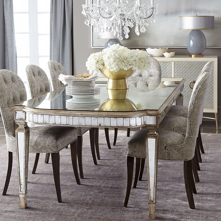 Well Known Mirrored Dining Tables Intended For Mirrored Dining Table – Design And Decor (View 18 of 20)