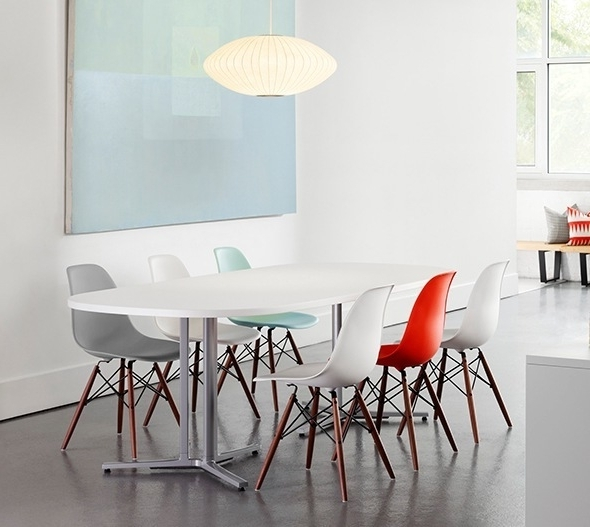 Well Known Modern Dining Table And Chairs In How To Mix And Match Your Dining Table And Chairs (View 14 of 20)