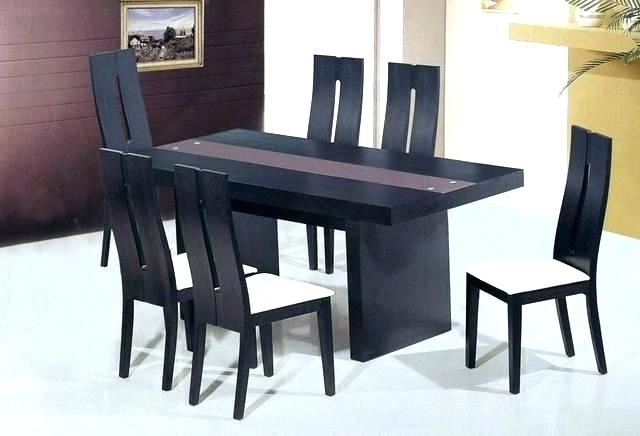 Well Known Modern Dining Table And Chairs Intended For Dining Table Sets Modern Unique Modern Dining Room Sets Wonderful (View 16 of 20)