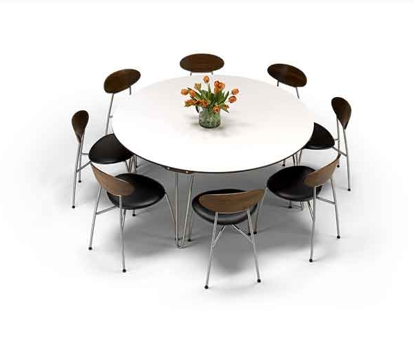 Well Known Non Wood Dining Tables (View 17 of 20)