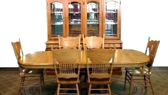 Well Known Oak Dining Table Chairs 6 Oak Dining Table Sets Oak Extending Dining Regarding Second Hand Oak Dining Chairs (View 19 of 20)