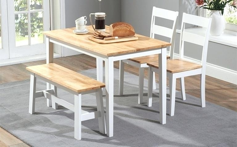 Well Known Oak Dining Tables Sets Throughout Oak Dining Table Chairs Uk Oak And White Painted Dining Table Sets (View 17 of 20)