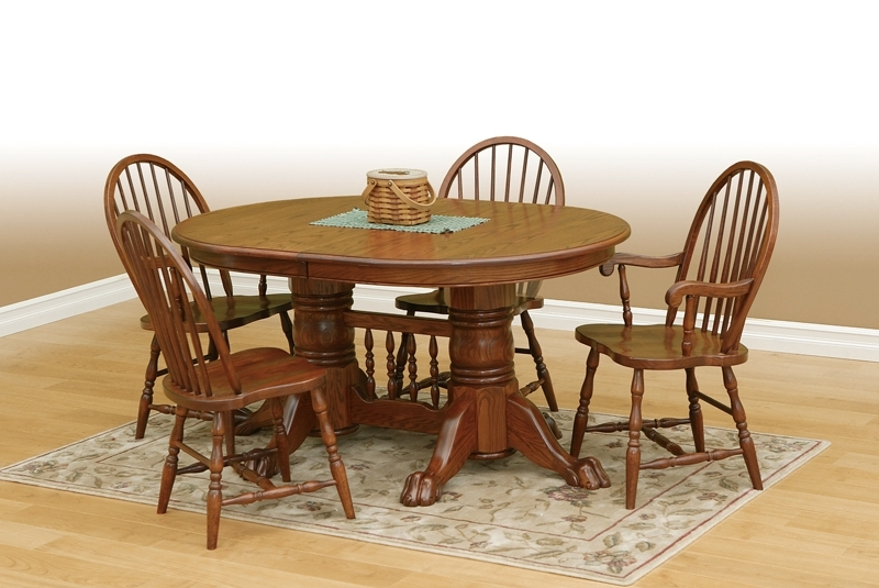 Well Known Oval Oak Dining Tables And Chairs Pertaining To Round Dining Table Htm Oak Oval Dining Table And Chairs As Glass (View 9 of 20)