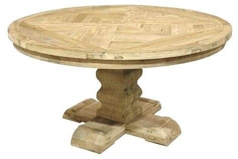Well Known Oval Reclaimed Wood Dining Tables Inside Reclaimed Wood Round Dining Table – Bdcfc (View 10 of 20)