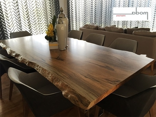 Well Known Perth Dining Tables For Quality Timber Furniture – Natural Edge Fine Furniture (View 19 of 20)