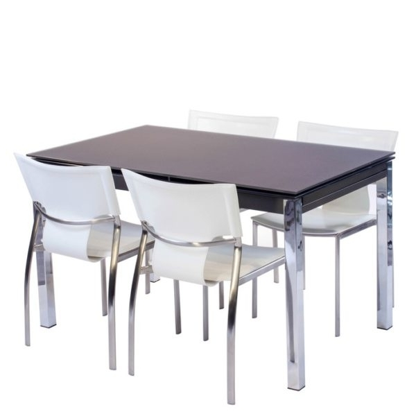Well Known Pisa Dining Tables Inside Pisa Frosted Glass Dining Table – House Of Denmark House Of Denmark (View 19 of 20)