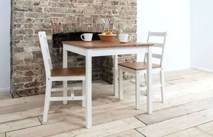 Well Known Rustic Oak Dining Table Ebay Set Round Elegant Small Two Seat Inside Small Oak Dining Tables (View 19 of 20)